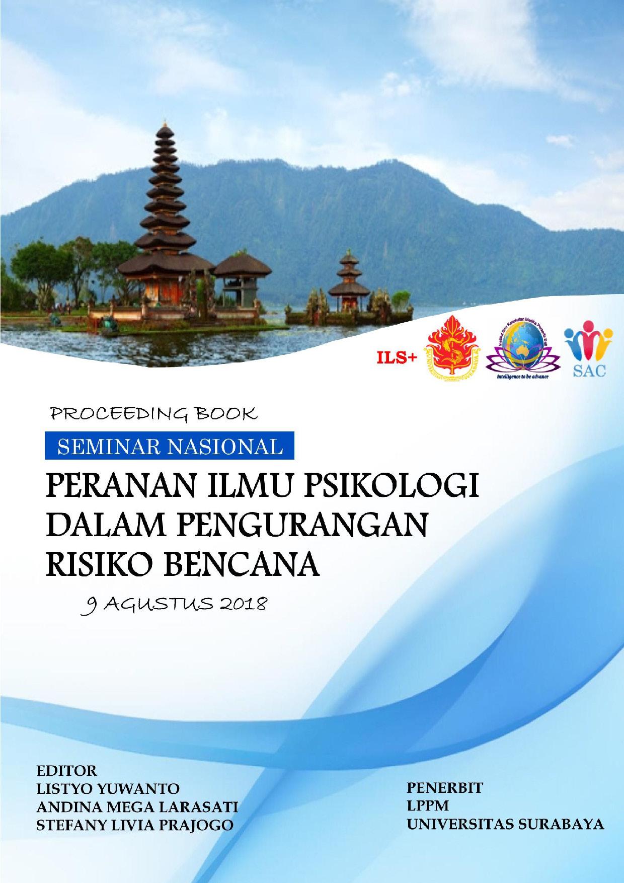 Cover of Seminar Nasional Psikologi Bencana
